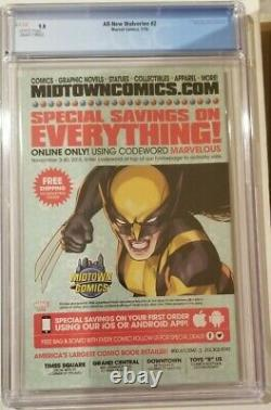 All-new Wolverine 1 Cgc 9.8 1ère Laura Kinney Solo Big Key Issue Comic Books