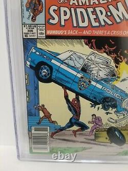 Amazing Spider-man #306 Cgc 9,6 Nm+ Kiosque À Journaux, Mcfarlane Action Comics #1 Hommage