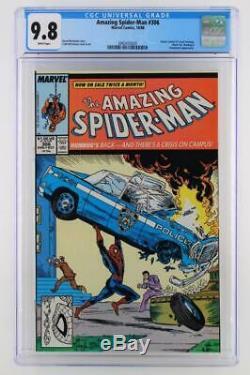 Amazing Spider-man # 306 Cgc 9,8 Nm / Mt Marvel 1988 Action Comics # 1 Couverture