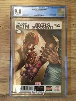 Amazing Spider-man # 4 1ère App Silk Cgc 9.8 Affranchissement Gratuit