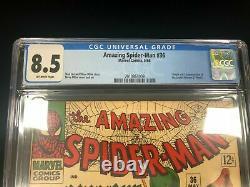 Amezing Spider-man #36 Marvel Comics 1966 Cgc 8.5 Origine Looter Ditko Stan Lee