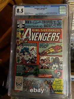 Avengers Annual #10 Cgc 8.5 1ère App Rogue Marvel Comics 1981