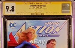 Bande Dessinée DC Action # 1000 Cgc Ss 9.8 Artgerm Superman Batman Wonder Wo Flash Cyborg