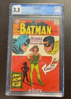 Batman 181 1er Lierre Empoisonné Cgc 3.5 DC Comics 6/66