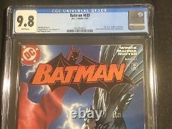 Batman #635 Cgc 9.8 1er Jason D'audience Aujourd'hôtel Rouge Première Imprimer DC Comic 2005