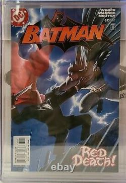 Batman #635 Cgc Classé 9.4 1er Jason Todd Comme Red Hood DC Comics