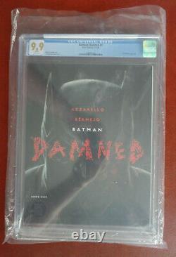 Batman Damné No 1 Classé Cgc 9,9 Mint DC Comics Rare Uncensoré
