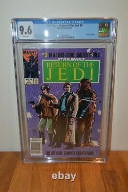 Beaucoup De Retour Des Questions De Comics Jedi 1,2,3,4 Cgc 9.6 Toutes Nouvelles