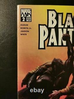 Black Panther #2 2005 Première Apparition Shuri Marvel Comics - Panther 2 Film