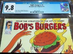 Bob's Burgers #1 Cgc 9.8 (08/2014) Dynamite Comics 1er Comic Apparence