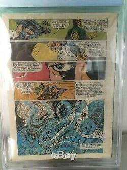 Captain Britain # 8 Cgc 9.2 1ère Apparition D'elisabeth Betsy Braddock Psylocke
