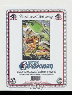Cavewoman Riptide E Action Comics 1 Budd Racine Variante 2019 Pgx (non Cgc) 9.9