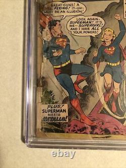 Cgc. 5 Action Comics #252 1ère Apparition Supergirl Key Silver Age Comic