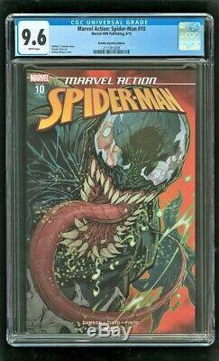Cgc 9,6 Action Marvel Spider-man # 10 Marvel Comics 9/2019 Détaillant Incentive