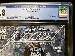 Cgc 9.8 Action Comics # 894 1er Apparence De La Mort Dans Dcu Nm / Mt Sandman