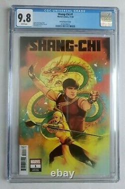 Cgc 9,8 Shang-chi #1 150 Rapport Variante Jen Bartel Variante Marvel Comics 2020