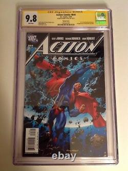 Cgc Ss 9.8 Action Comics #844 Variante Signée Par Henry Cavill