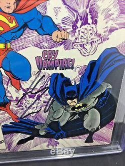 Cgc Ss 9.8 Annuel # 1 De Action Comics Arthur Adams Batman Art Signé Henry Cavill