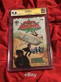 Cgc Ss 9.8weed Magie # 1action Comics Superman Homagesigned Henry Cavill 420