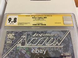 Clés 1er Décès Dans Dcu Action Comics #894 Signé Cgc 9,8 Nm+/mt Finch Netflix Bientôt