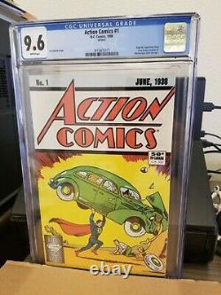 Comics D'action #1 DC Cgc 9,6