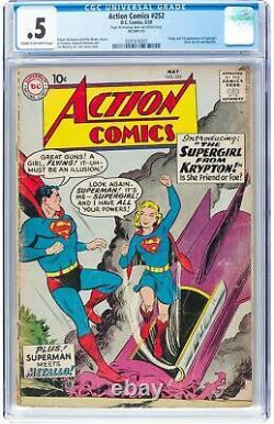 Comics D'action #252 Cgc 0.5