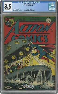 Comics D'action #90 Ccg 3.5 1945 3750794001