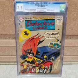 Comics Detectif #233 Ccg 3.5 Origine Et Première Apparition De Batwoman Batman Robin 1