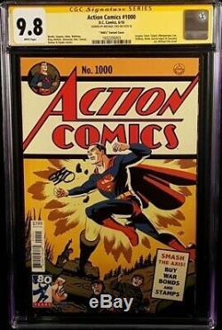 DC Action Comics # 1000 Cgc Ss 9.8 Michael Cho Superman Batman Femme Flash Wonder