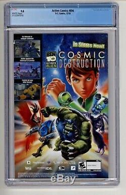 DC Action Comics # 894 Cgc 9.8