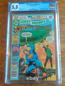 DC Comics Présente 26 Cgc 5.5 Première Apparition De Nouveaux Titans Adolescents