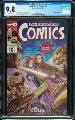 Dark Horse Comics #7 Cgc 9.8 W Star Wars 1st Naomi Sunrider 1993