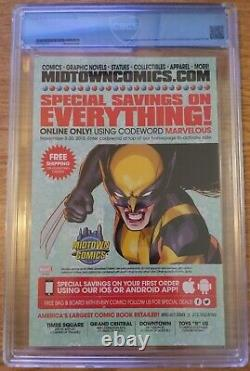 Deadpool #2 Marvel Comic Book Hip Hop Variante 2016 Cbcs 9,8 Pas Cgc Vanilla Ice