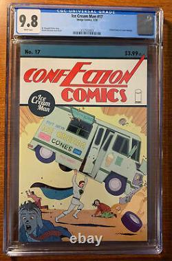 Détails Sur Ice Cream Man #17 Cgc 9.8 Nm-mint Action Comics #1 Cover Tribute V
