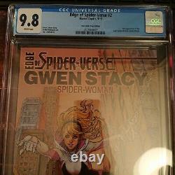 Edge Of Spider-verse #2 The Comic Bug Edition Cgc 9.8