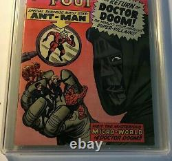 Fantastic Four #16 Marvel Comics Juillet 1963 Ccg 7.5 Vfn Minus Fabuleux Copie