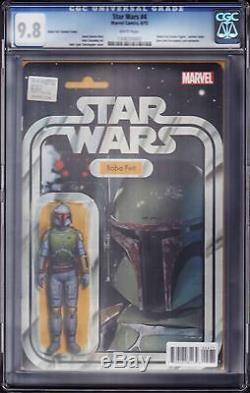Figurine Articulée Boba Fett De Star Wars 4 - Variante John Tyler Christopher Cgc 9.8