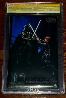 Figurine D'action De Chewbacca De Cgs 9.8 Ss De Star Wars 4 Variante Signée Par Peter Mayhew