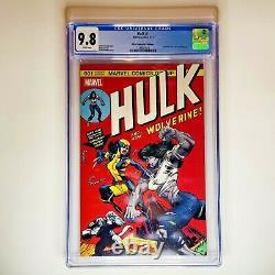 Hulk 181 Hommage Hulk #1 Vol 4 Hall Of Comics/cbcs Variante Cgc 9.8 Grand Cover