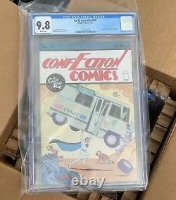 Ice Cream Man #17 Cgc 9.8 Pages Blanciers 1er Print Homage Action Comics 1 Cvr 2020