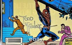 Incroyable Spiderman #306 Cgc Ss 9.6 Todd Mcfarlane Kiosque À Journaux! Hommage Action Comics