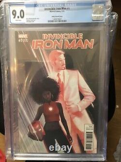 Invincible Iron Man #1 (ironheartriri Williams) Action Figure Variante