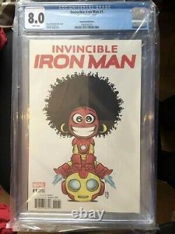 Invincible Iron Man #1 (ironheartriri Williams) Midtown Variante