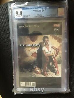 Invincible Iron Man #1 (ironheartriri Williams) Variantes Bundle (cgc)