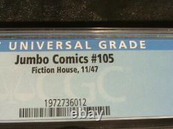 Jumbo Comics#105 Cgc Grade 3.5