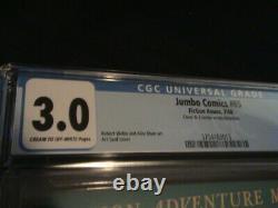 Jumbo Comics #65 Cgc Grade 3.0