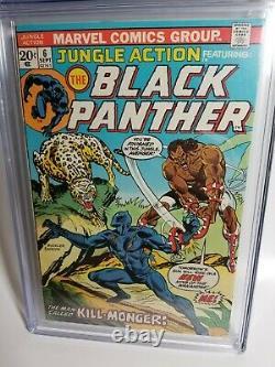 Jungle Action 6 Cgc 8.5 Pages Blanches 1ère Bande Dessinée App Killmonger Black Panther