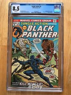 Jungle Action Marvel Comics Festuring The Black Panther # 6. Cgc 8.5