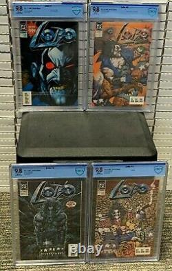 Lobo #1 2 3 4 X 9.8 Élevé Complète 1er Ensemble De Course Solo DC Comics Cgccbcs