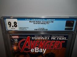 Marvel Avengers Action # 10 Cgc 9,8 Nm / Mt 1er Premier Carton Jaune Hulk! Red Hot Comic